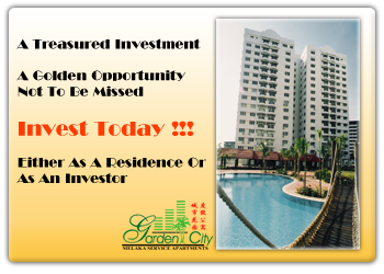 Garden City Melaka Service Apartments Investment